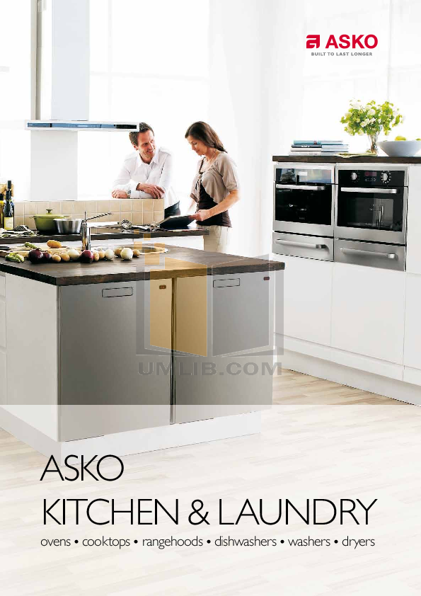 pdf for Asko Dryer T753C manual